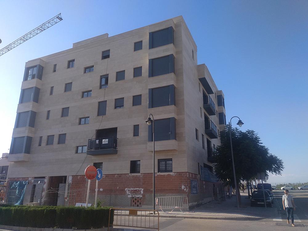 Terrazas III - obra nueva en valencia PROXA