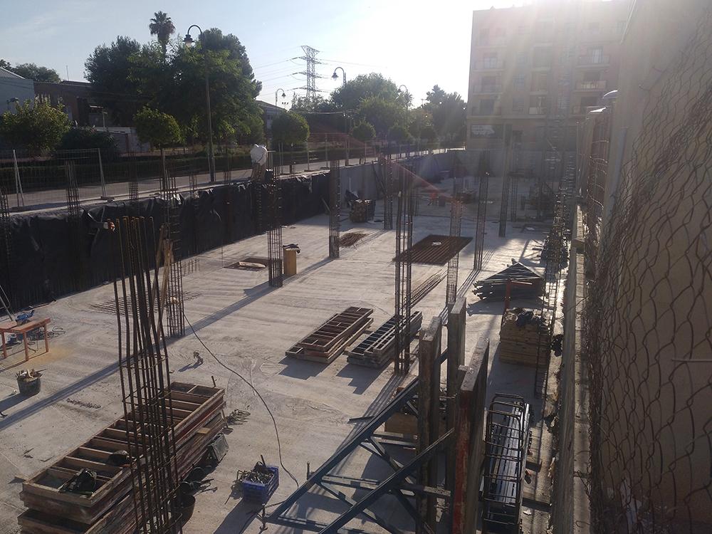 Terrazas IV y V - obra nueva en valencia PROXA