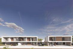 Conjunto de las tres viviendas